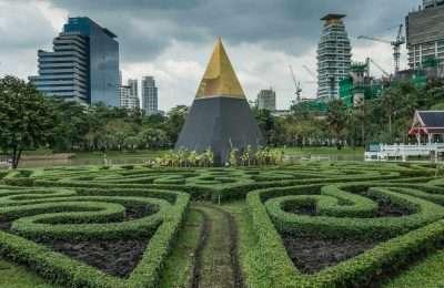 Benjasiri Park In Bangkok Thailand