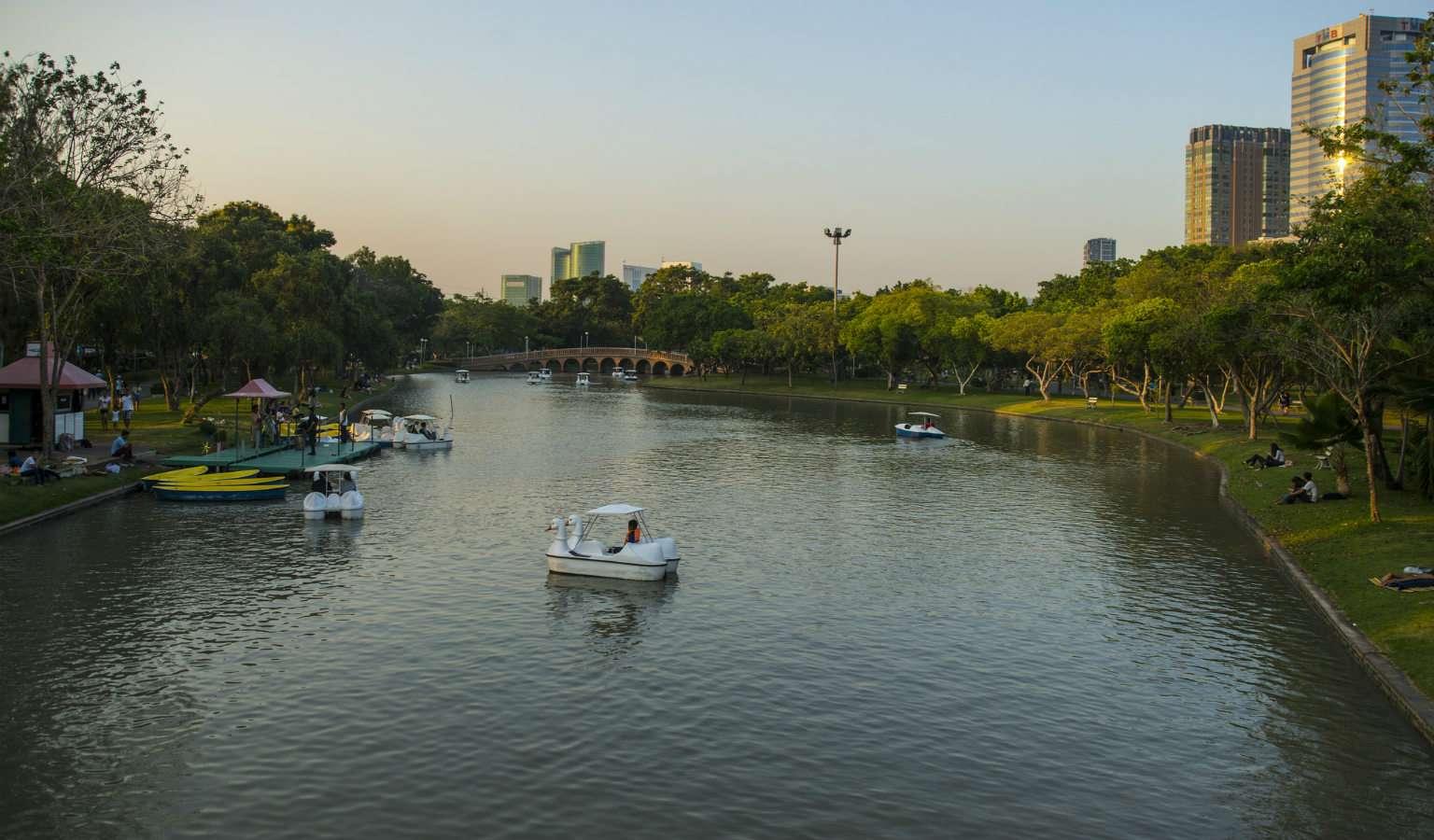 Chatuchak Park in Bangkok Thailand