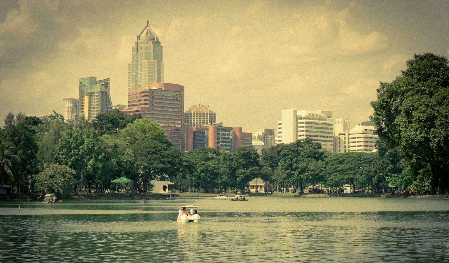 Lumphini Park in Bangkok, Thailand