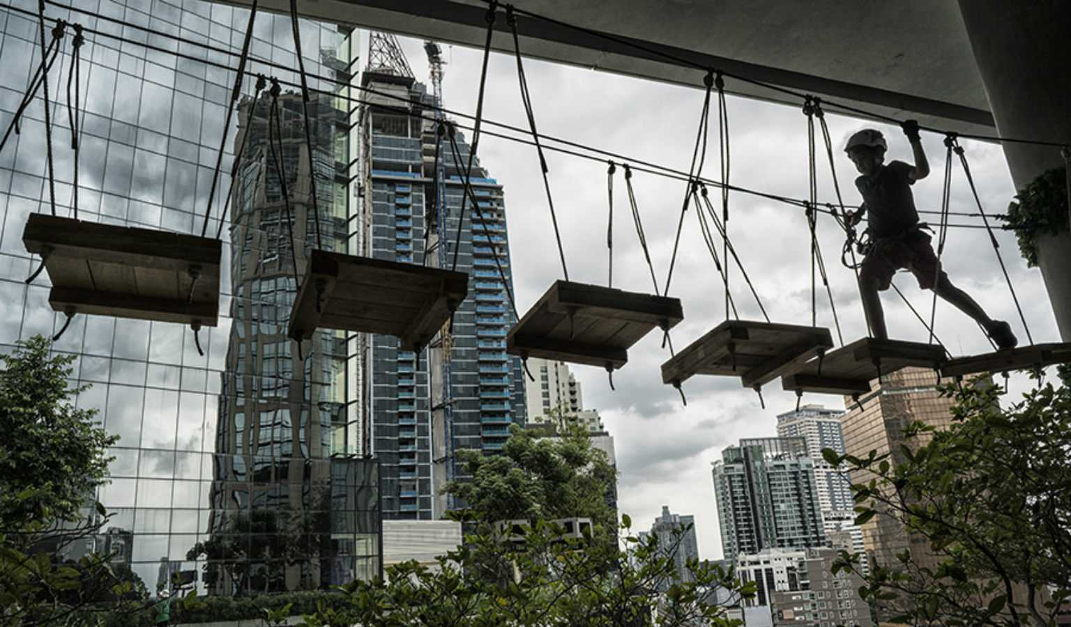 The Urban adventure park in EmQuartier Bangkok