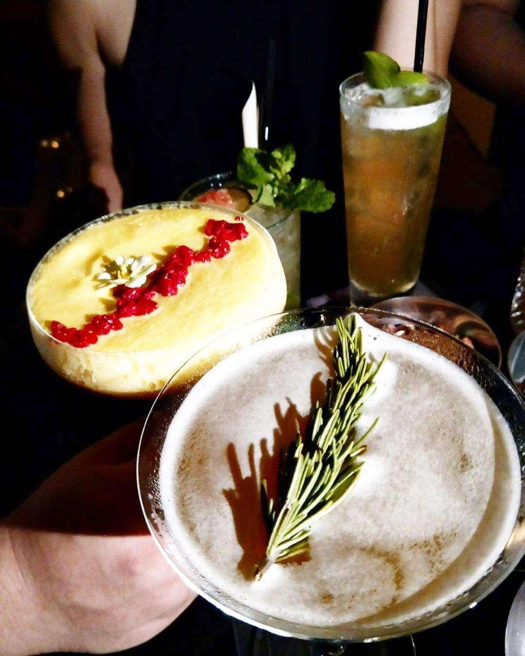 Cocktails bij Sirocco @ Lebua