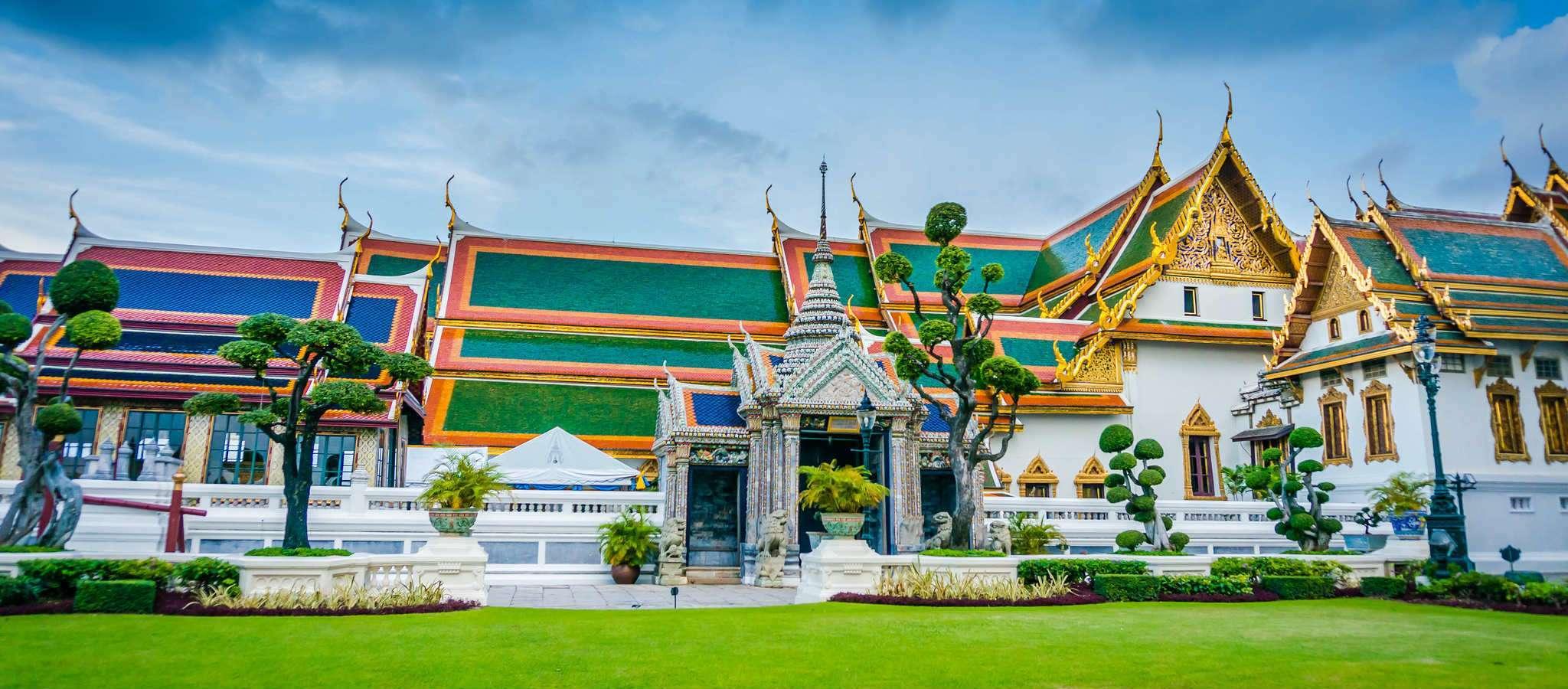 Tempels (Wat) in Bangkok, Thailand