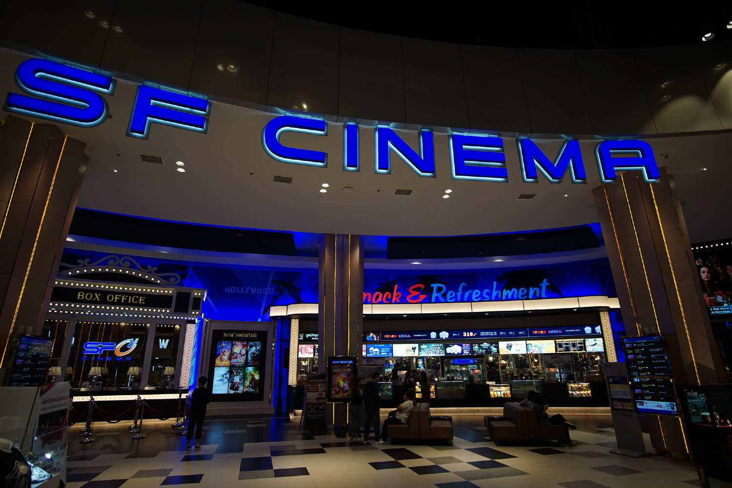 SF Cinema in Terminal 21 Bangkok