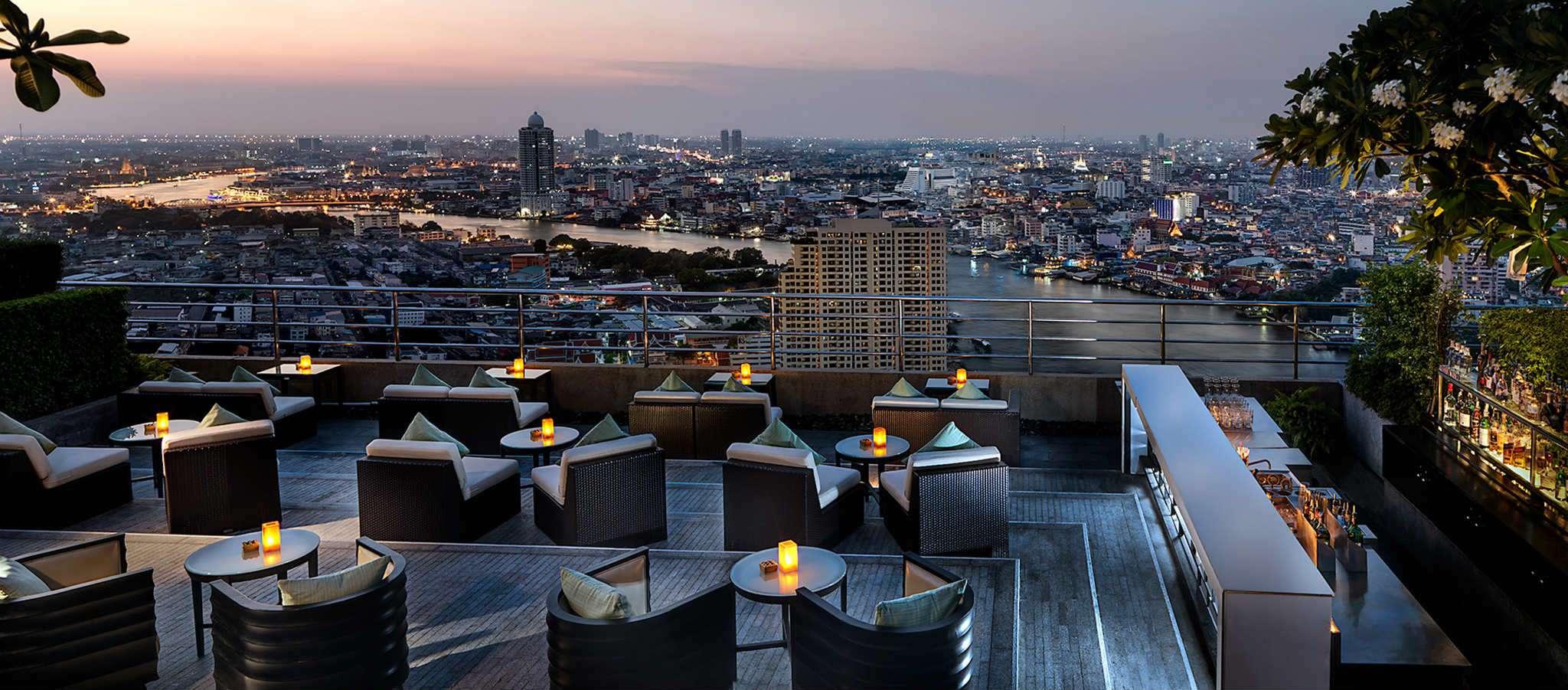 Three Sixty & Lounge bar in Bangkok, Thailand