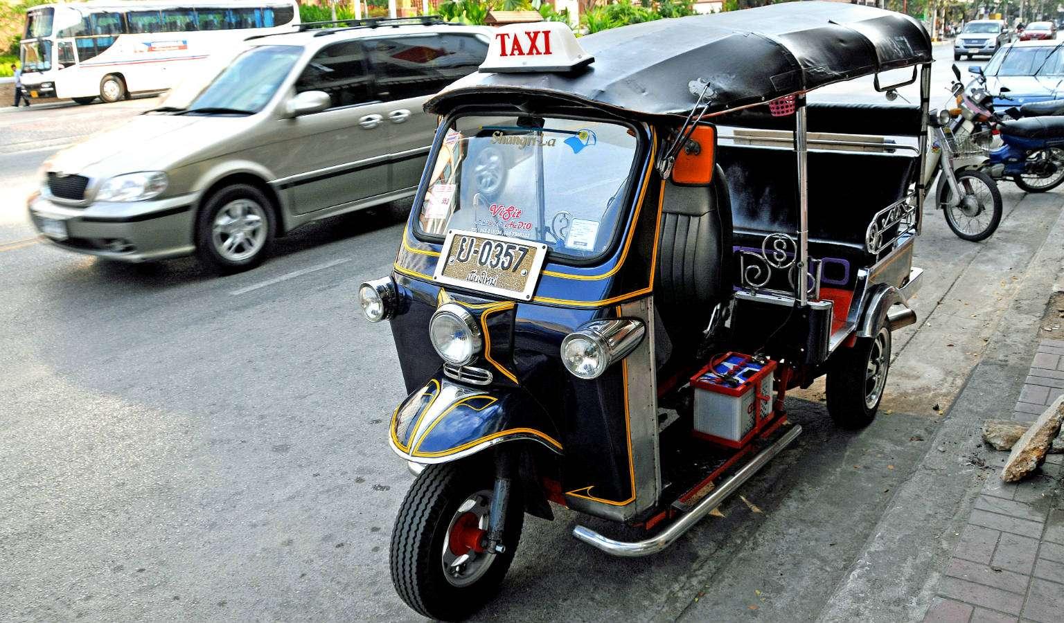 Tuk Tuk in Chiang Mai