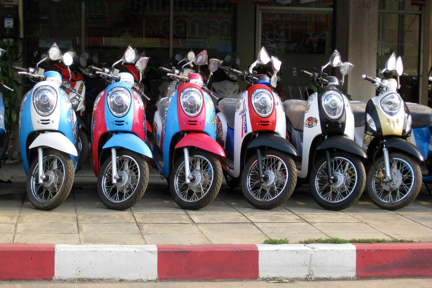 Scooterverhuur in Chiang Mai