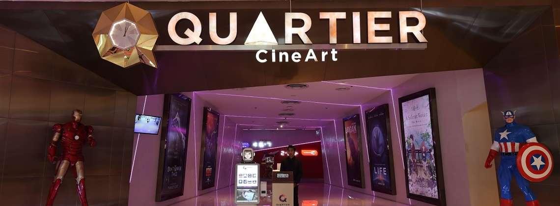 Quartier CineArt at Major Cineplex in EmQuartier shopping mall in Bangkok