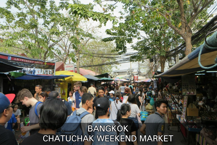 Chatuchak Weekend Market in Bangkok, Thailand