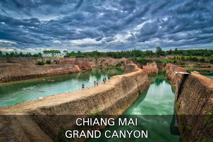 Grand Canyon In Chiang Mai, Thailand