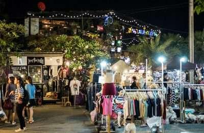 JJ Green Markt In Bangkok Thailand