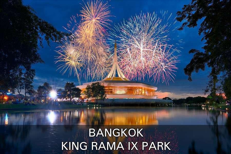 Lees hier verder voor meer informatie over het King Rama IX Park in Bangkok, Thailand