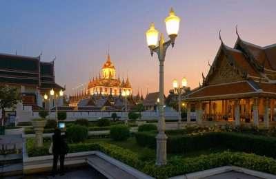 Loha Prasat In Bangkok, Thailand