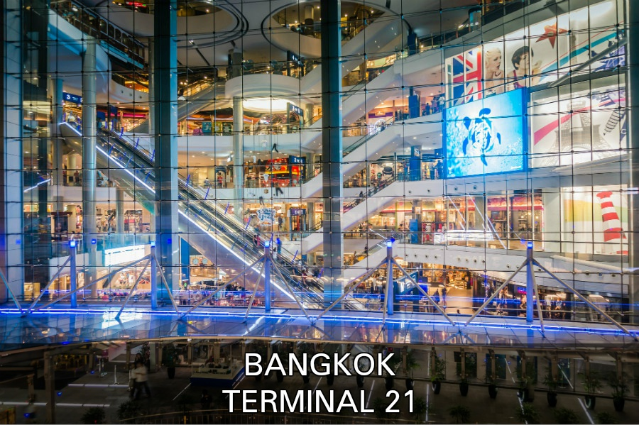 Link Naar Artikel Over Shopping Mall Terminal 21 Winkelcentrum In Bangkok, Thailand