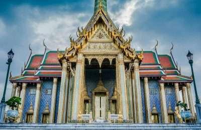Wat Phra Kaew Emerald Buddha Tempel In Bangkok, Thailand