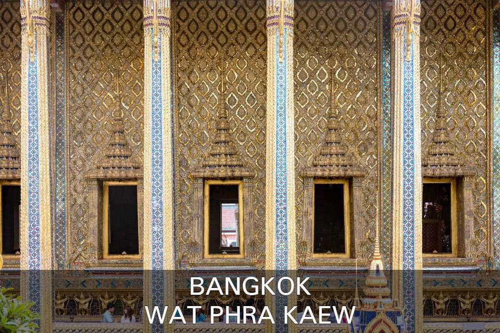 Lees Hier Alles Over De Wat Phra Kaew Op Het Grand Palace Terrein In Bangkok, Thailand