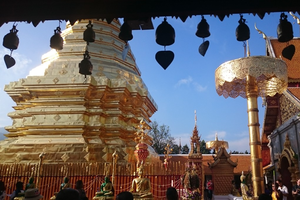 Wat Phrathat Doi Suthep tempel in Chiang Mai