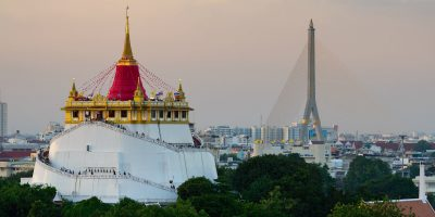 Wat Saket Golden Mount In Bangkok, Thailand