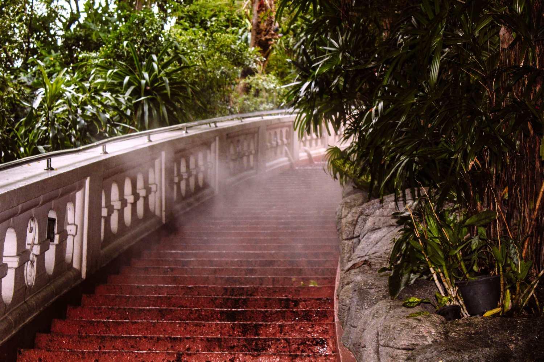De trap van de Wat Saket