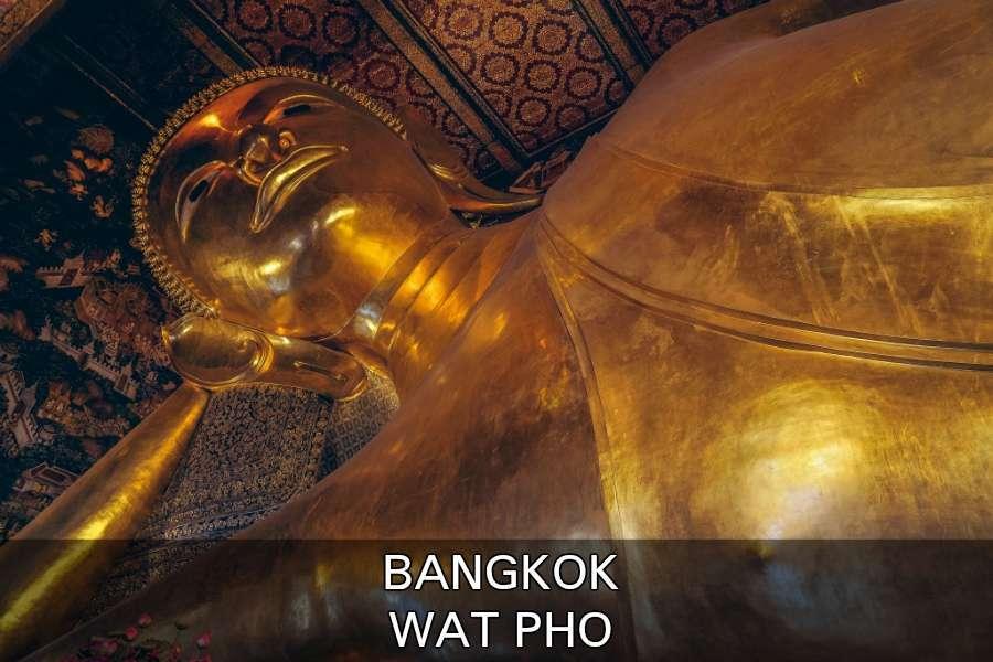 Wat Pho Tempel In Bangkok, Thailand
