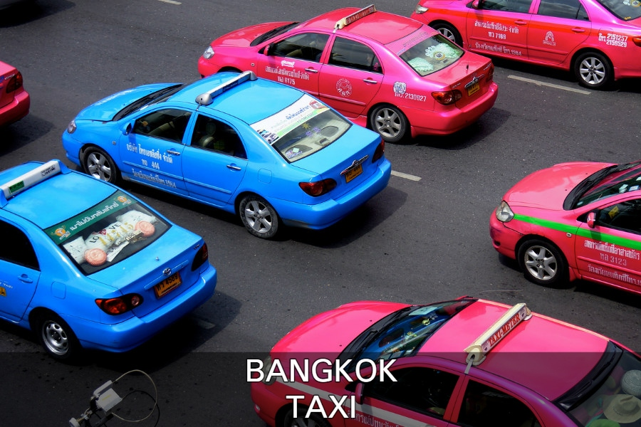 Read here more about the use of the taxi in Bangkok