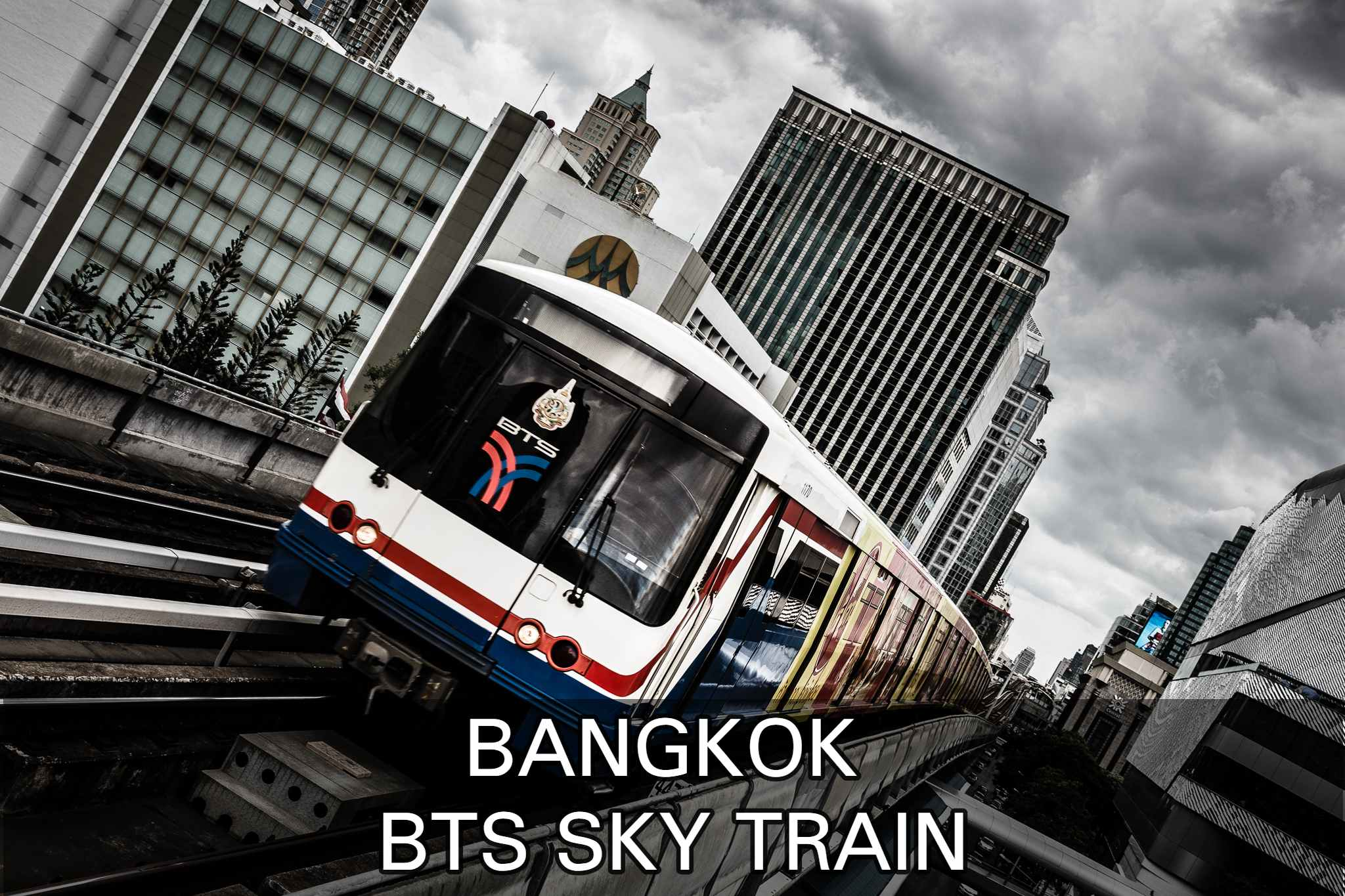 Lees hier verder over de BTS Sky Train in Bangkok