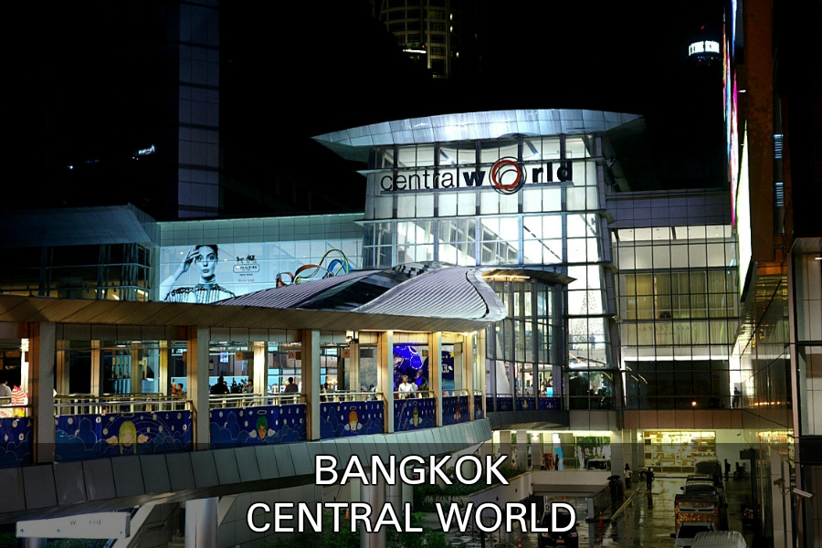 Winklelen In Shoppingmall Central World Bangkok