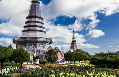 Doi Inthanon National Park Vlakbij Chiang Mai