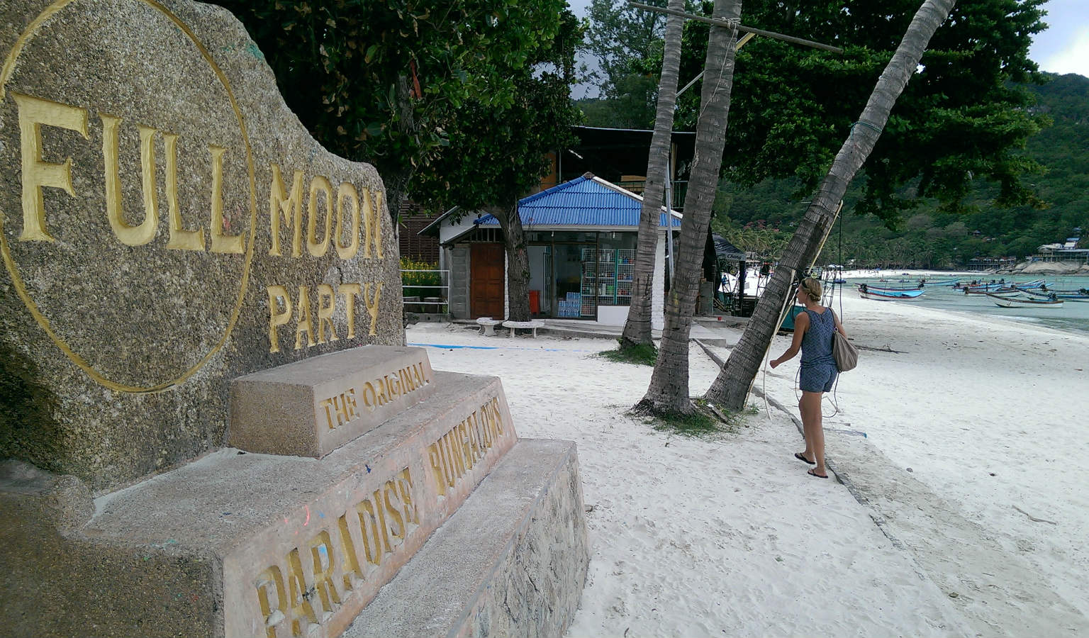 Full Moon Party in Ko Phangan, Thailand