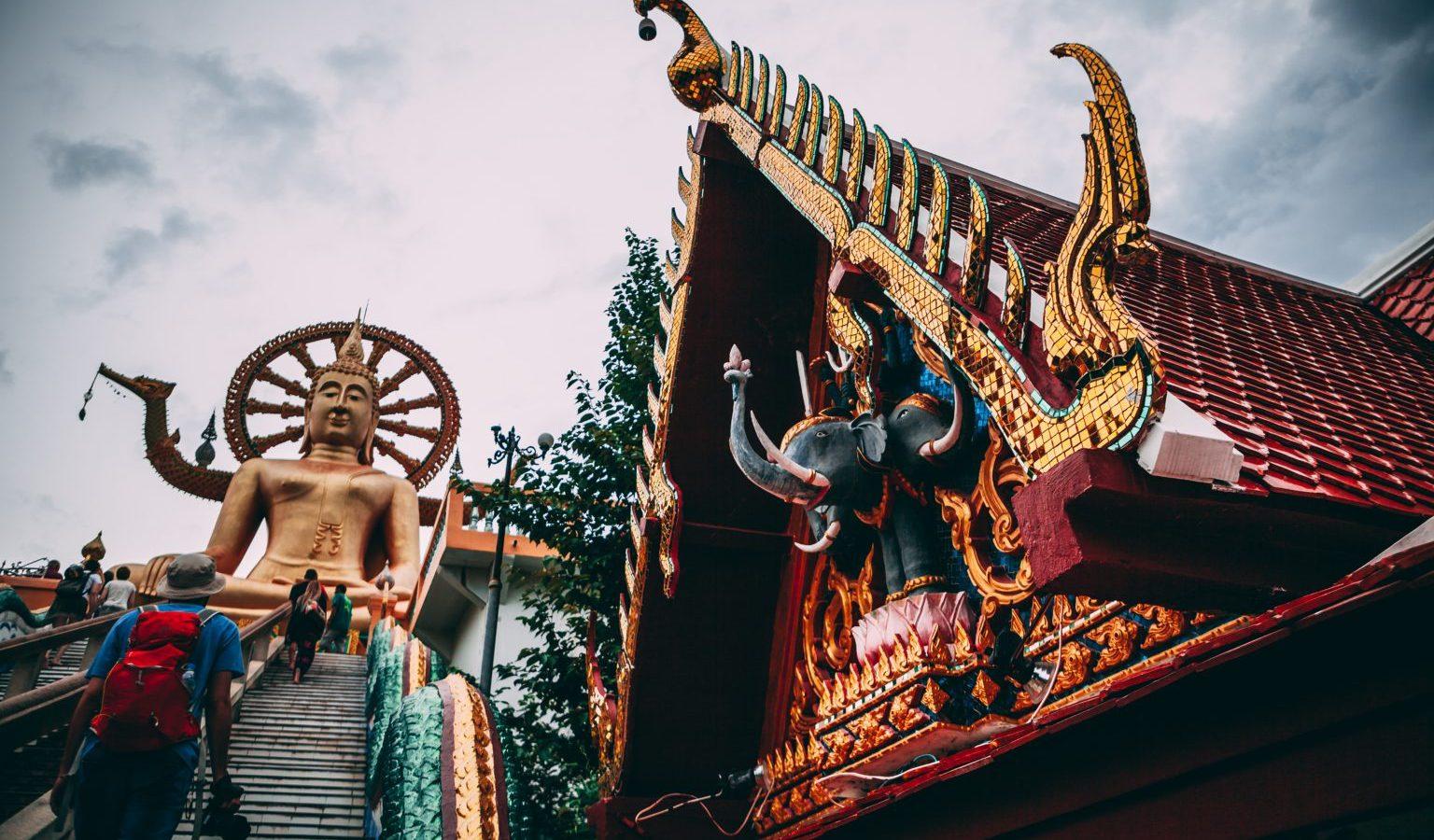 Trap naar Tempel Big Budda, Ko Samui