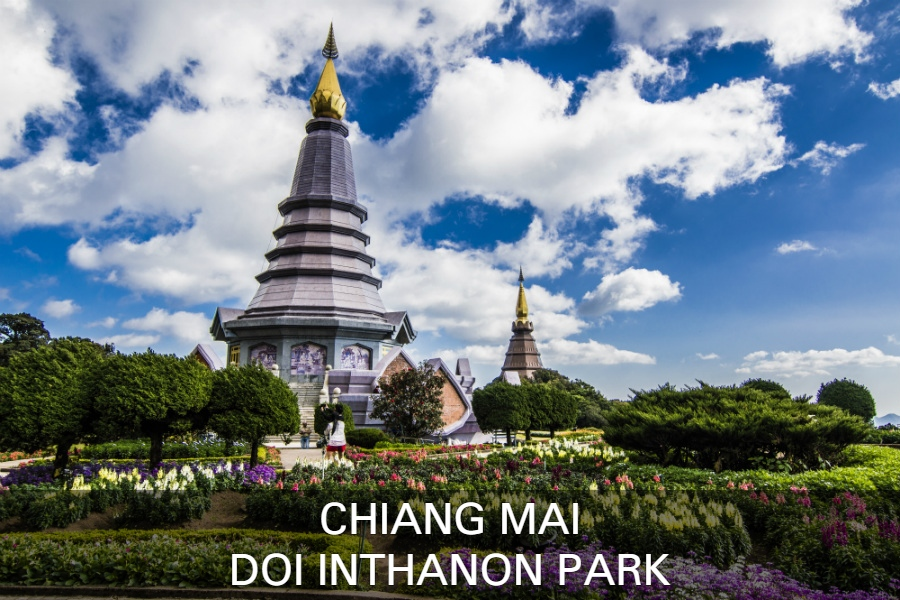 Read more about the Doi Inthanon Park with highest mountain in Thailand near Chiang Mai