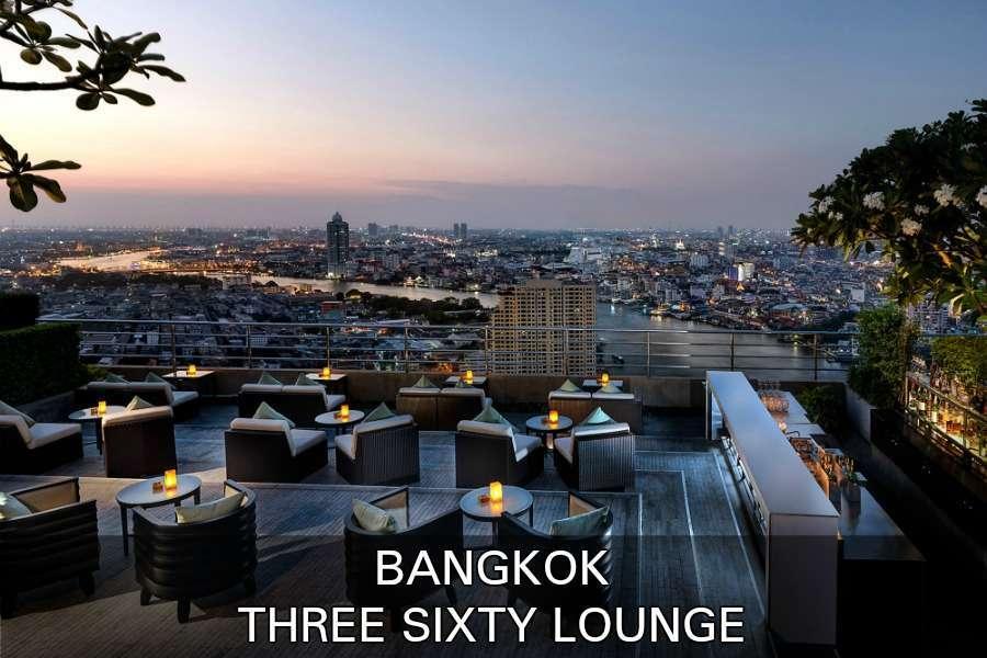 Lees Hier Alles Over De Sky Bar Three Sixty Lounge Bangkok, Thailand.