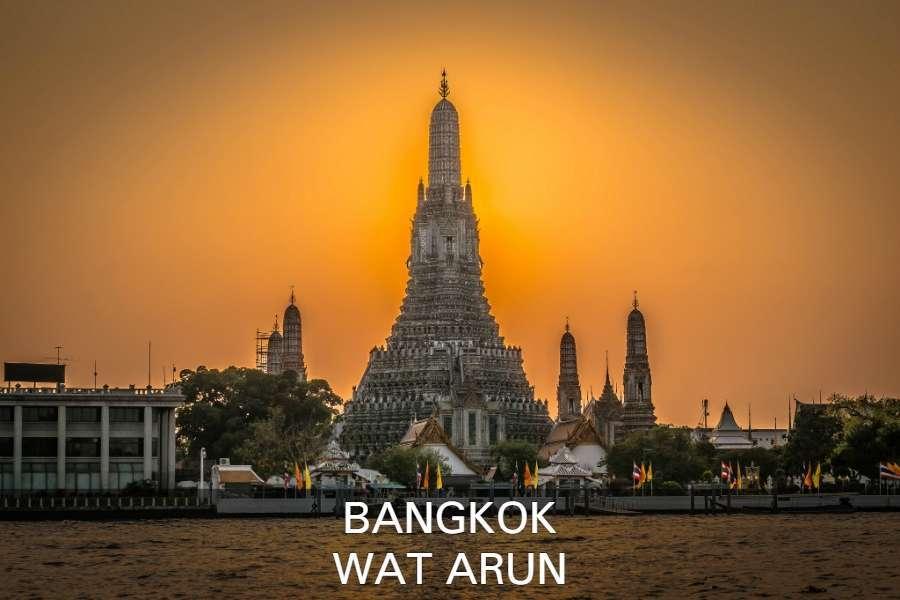 Wat Arun Tempel In Bangkok, Thailand