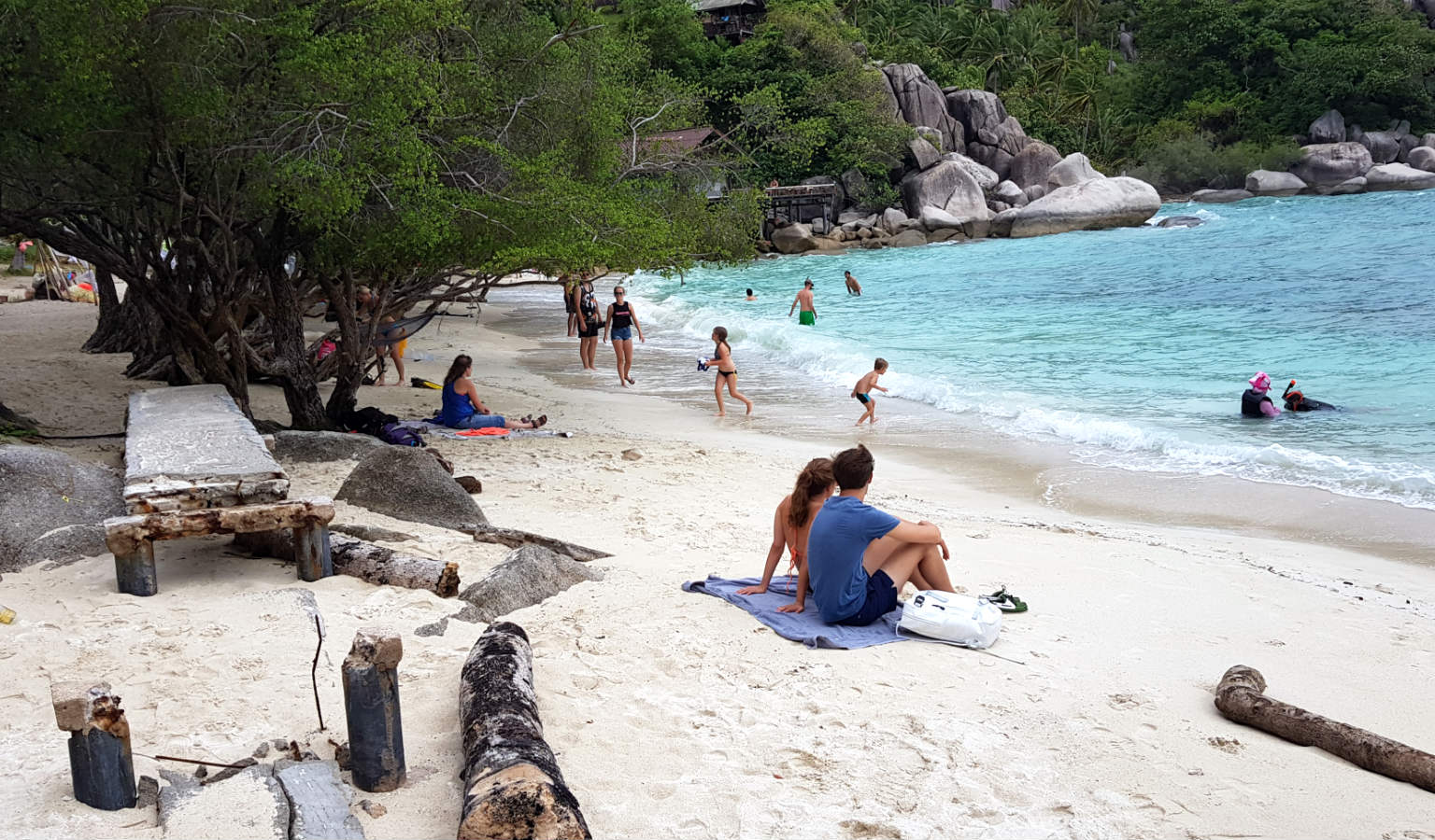 Freedom Beach, wit strand, Koh Tao