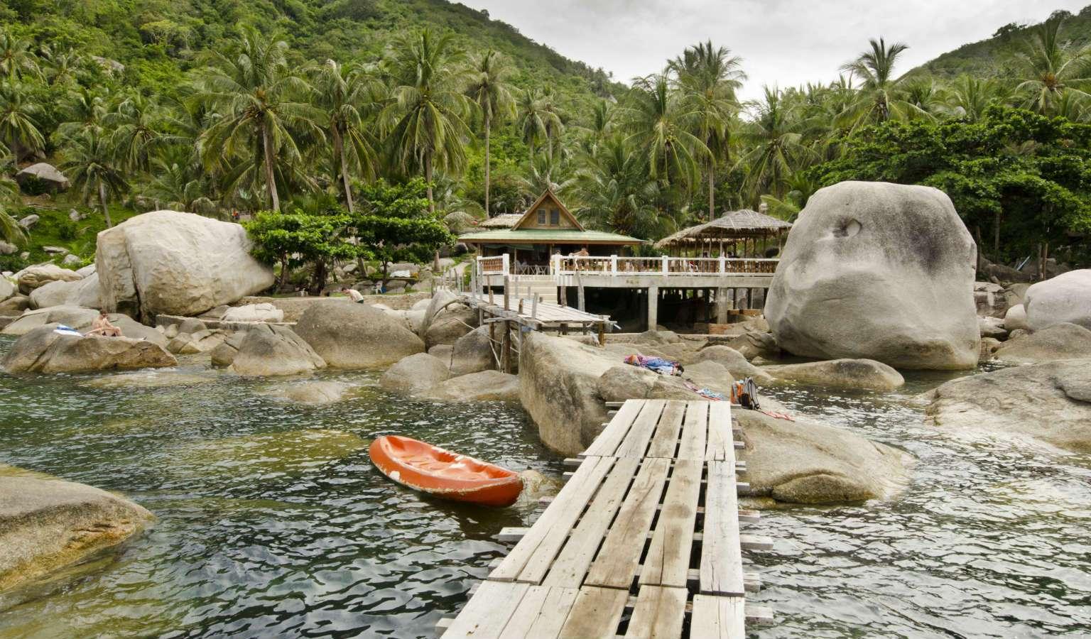 Loopplank Hin Wong Bay, Ko Tao