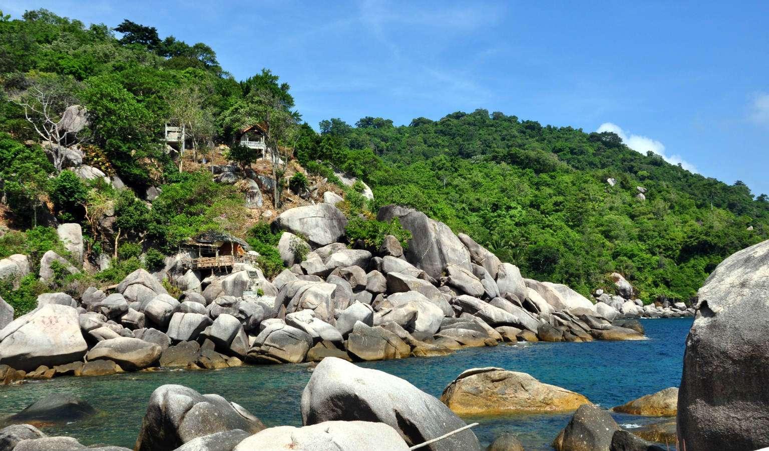 Rotsen Hin Wong Bay, Ko Tao