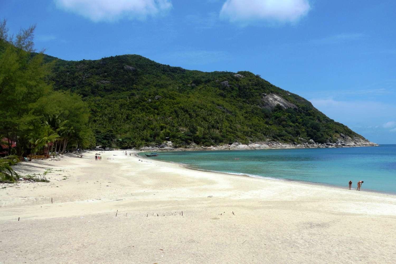 The bay of Bottle Beach on Koh Phangan