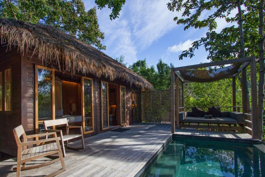 Haadtien Beach Resort Villa met privé zwembad