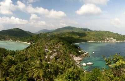John Suwan View Point, Uitzicht Over Chalok Bay EnTian Og Bay
