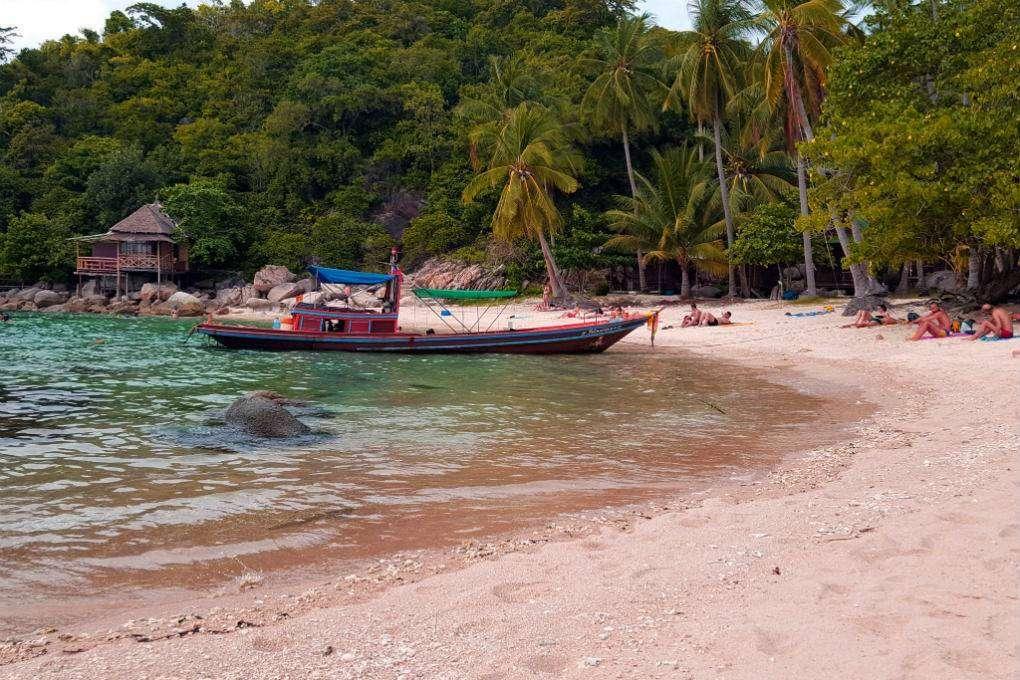 Sai Nuan 1 Beach on Koh Tao
