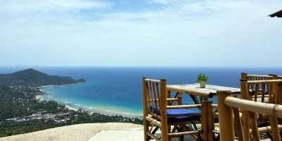 Mango Viewpoint Met Uitzicht Over Sairee Beach Op Koh Tao
