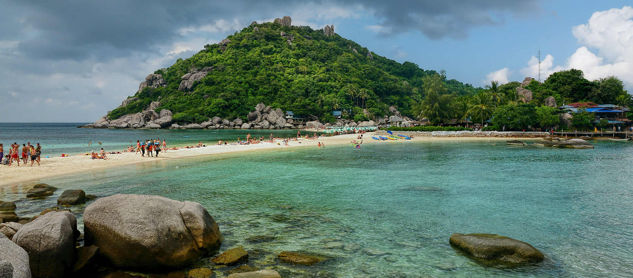 sand bank of Koh Nang Yuan