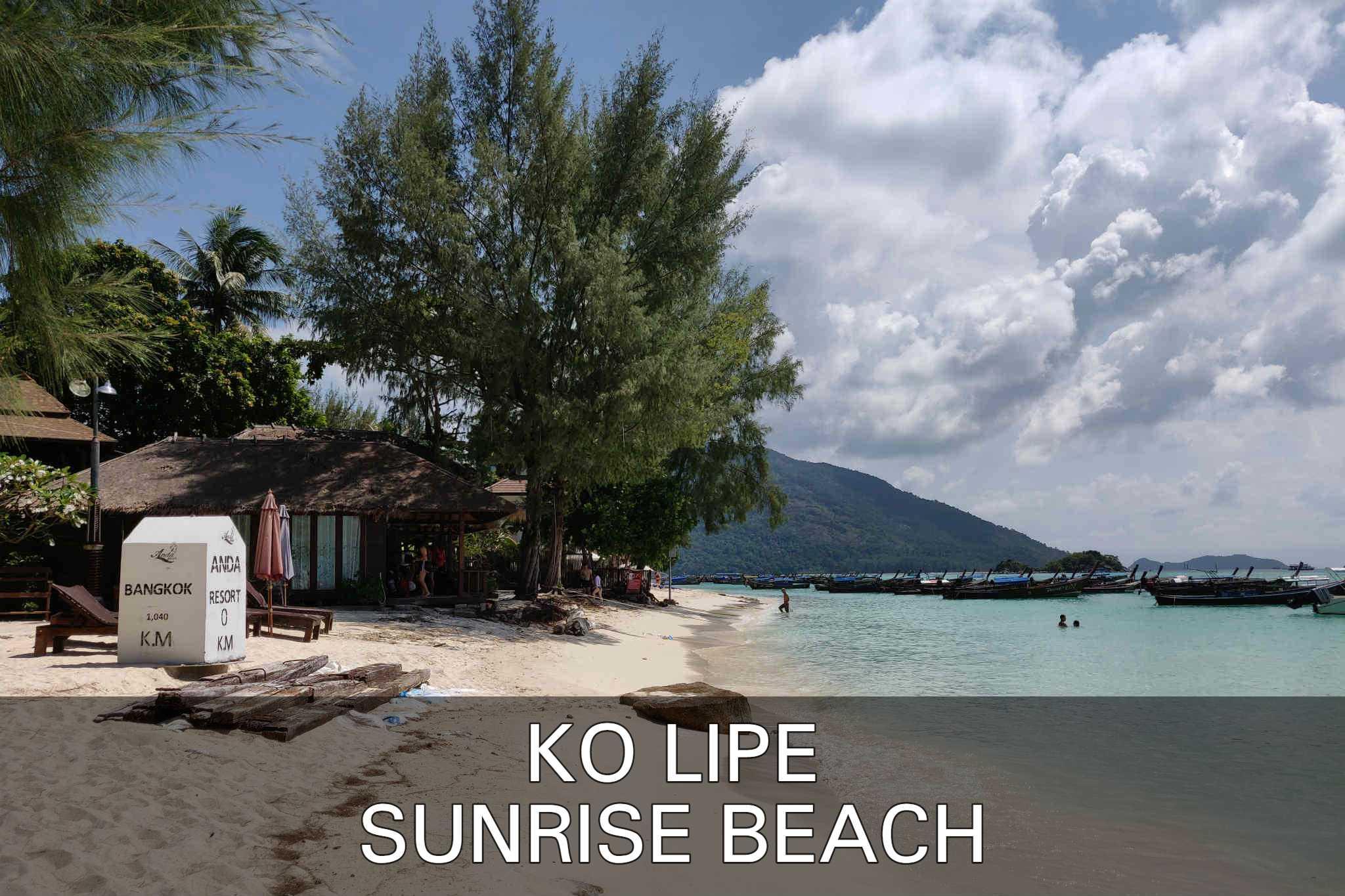Sunrise Beach In Ko Lipe