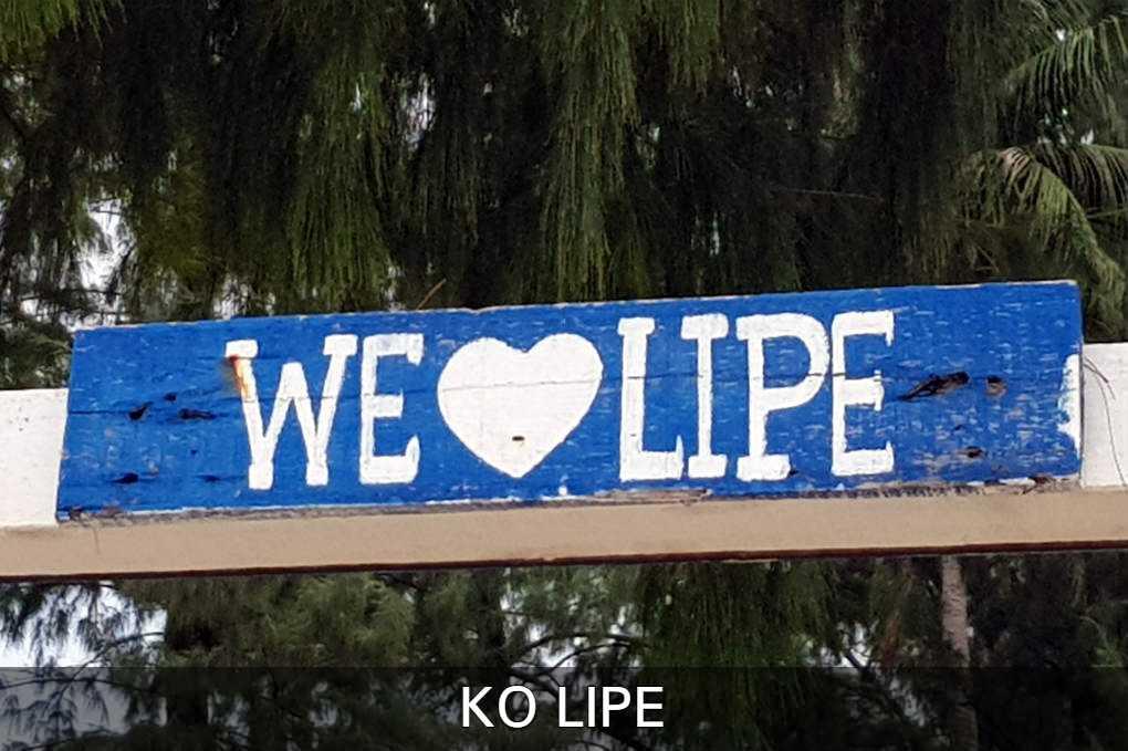 We Love Ko Lipe Bord