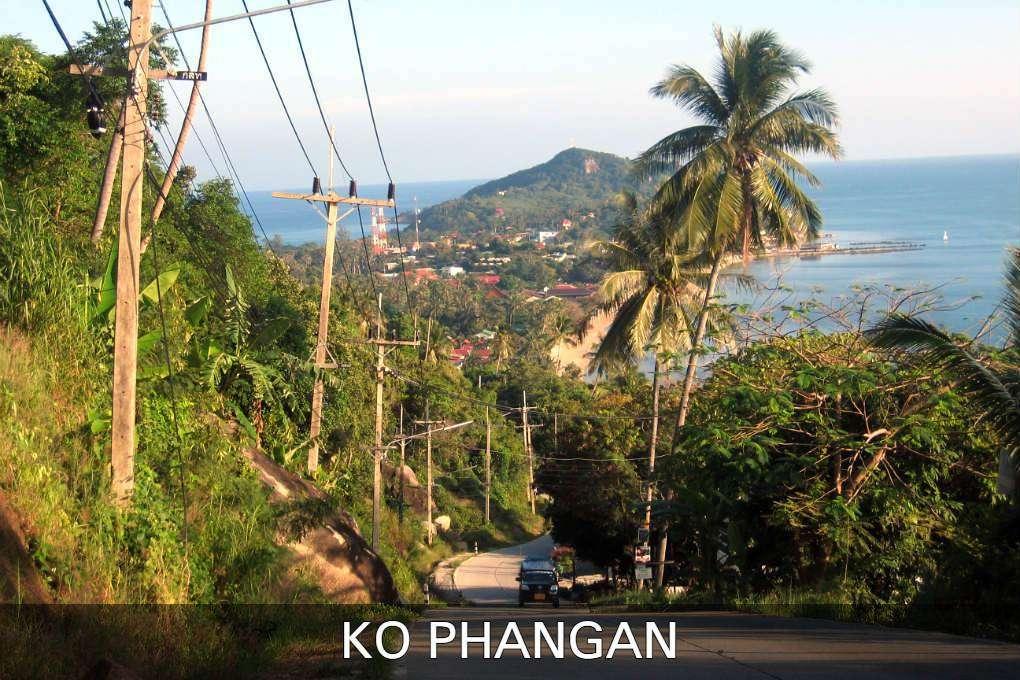 Weg Naar Haad Rin In Ko Phangan