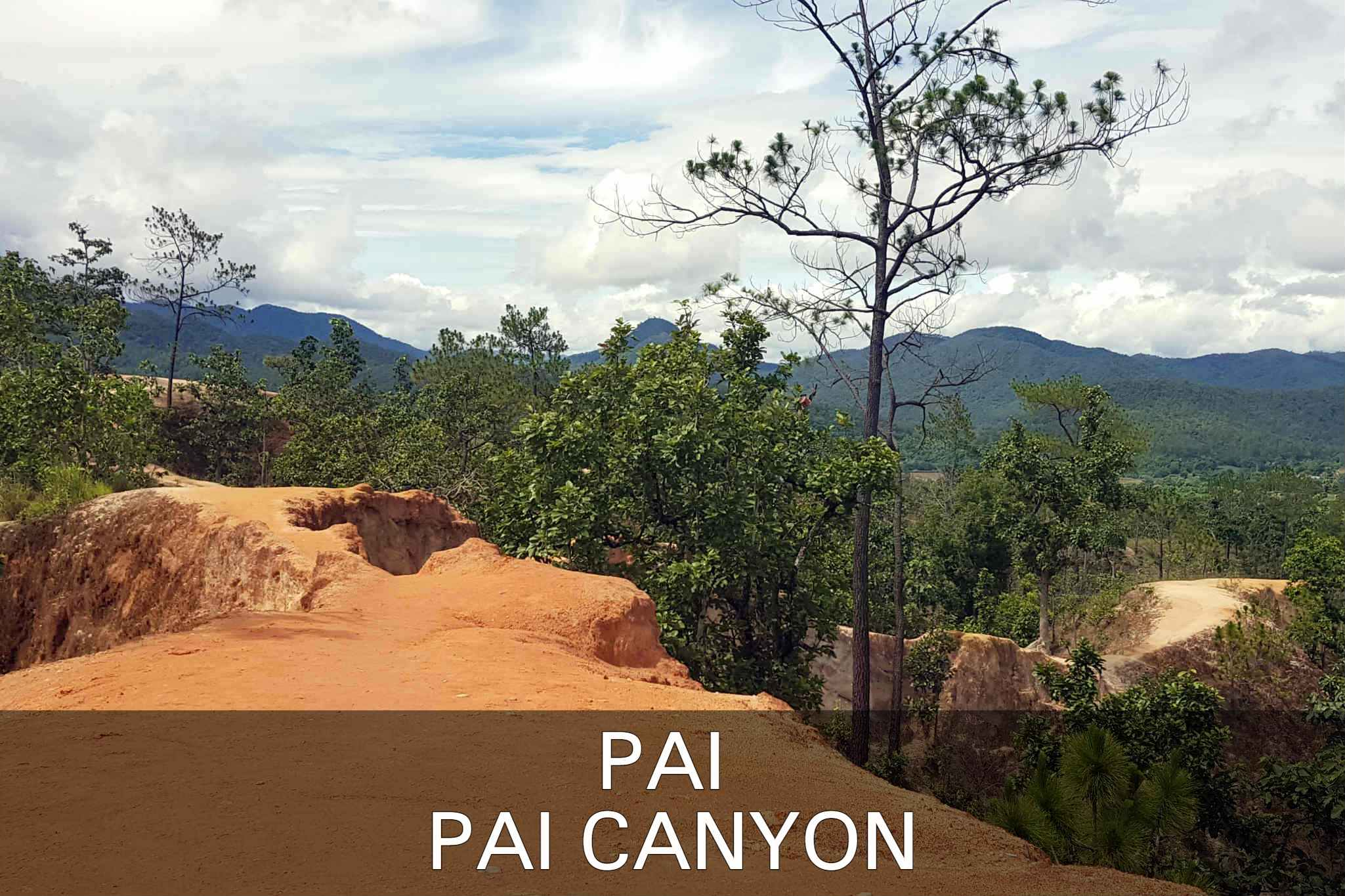 Pai Canyon In Pai, Thailand