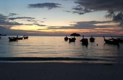 Sunrise Beach In Ko Lipe, Thailand