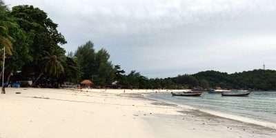 Het Lange Strand Van Pattaya Beach In Koh Lipe, Thailand