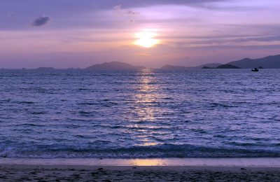 Sunset Beach In Ko Lipe, Thailand