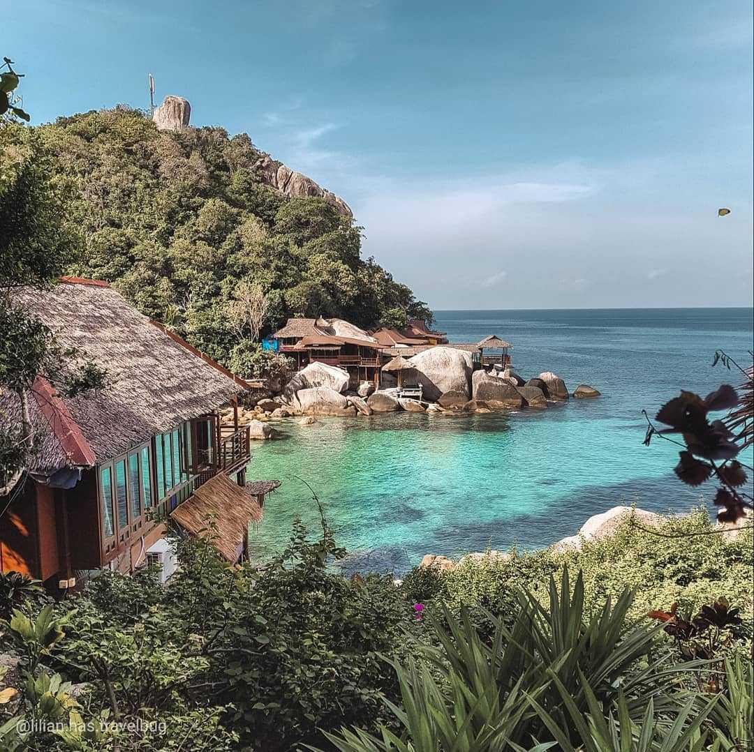 Charm Churee Villa aan Jansom Bay op Koh Tao
