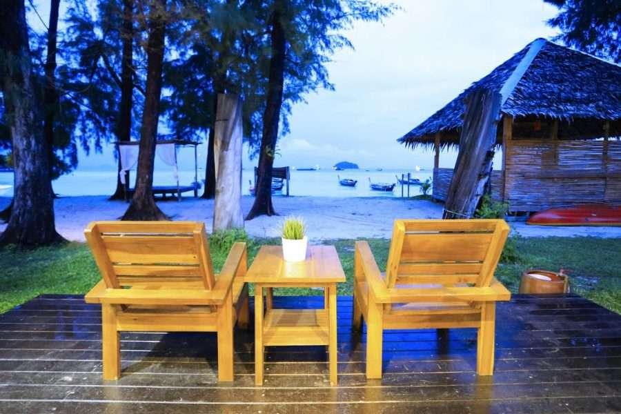 Chairs at Wapi Resort on Koh Lipe
